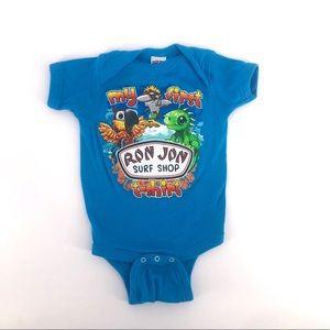 Ron Jon surf shop baby onesie 6mths